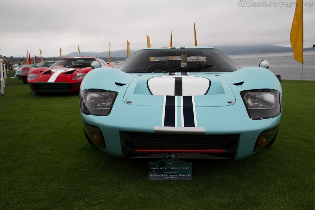 Ford GT40 MkIIB - Chassis: GT40P/1031 - Entrant: The Revs Institute  - 2016 Pebble Beach Concours d'Elegance