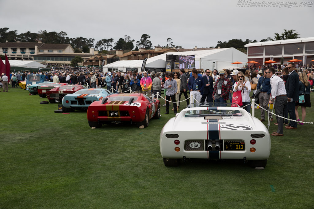 Ford GT40 Roadster - Chassis: GT/109 - Entrant: Dana & Patti Mecum  - 2016 Pebble Beach Concours d'Elegance