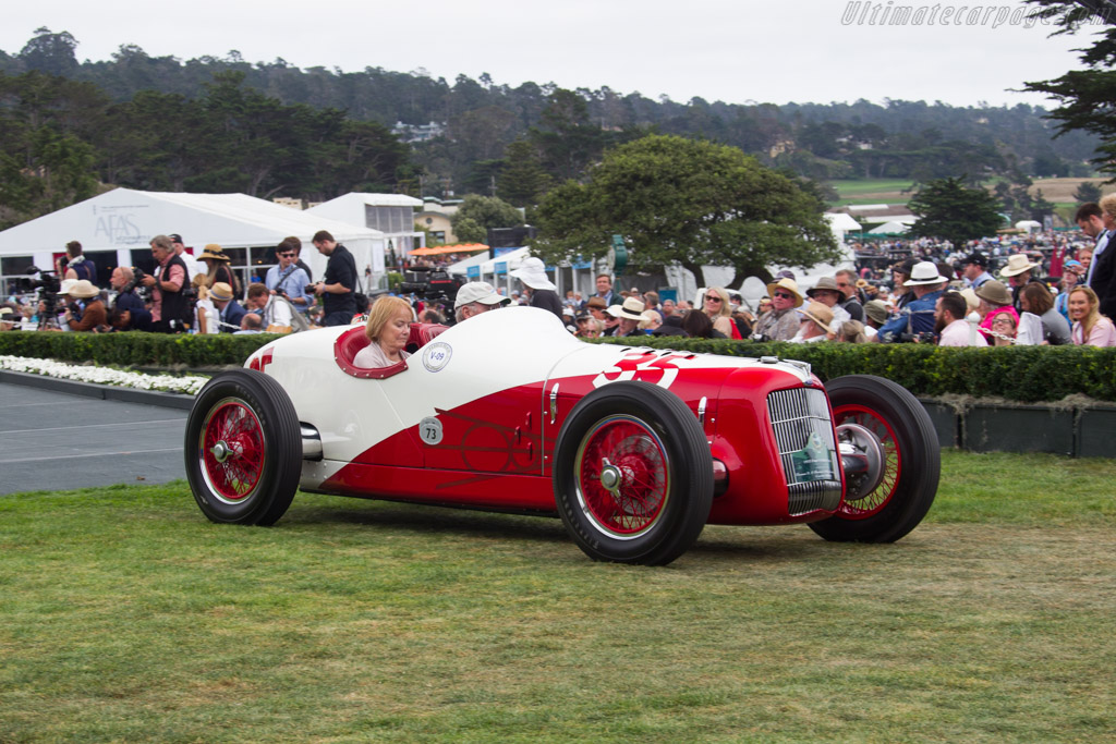 Ford V8 Miller Special  - Entrant: Thomas & Sharon Malloy  - 2016 Pebble Beach Concours d'Elegance