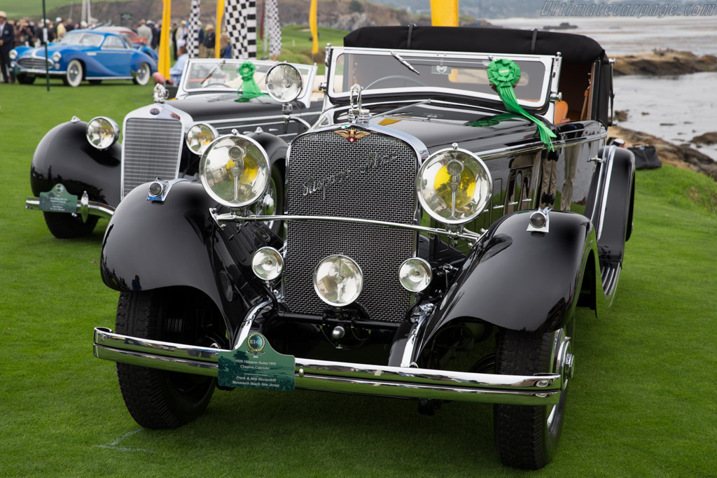 Hispano Suiza H6B Chapron Cabriolet  - Entrant: Frank & Milli Ricciardelli  - 2016 Pebble Beach Concours d'Elegance
