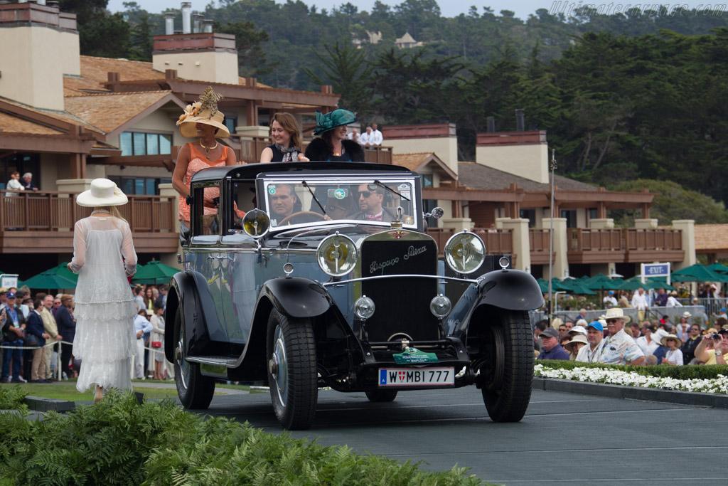 Hispano Suiza H6B Chapron Splendid Laudaulet - Chassis: 10479 - Entrant: Ing. Alexander Schaufler  - 2016 Pebble Beach Concours d'Elegance