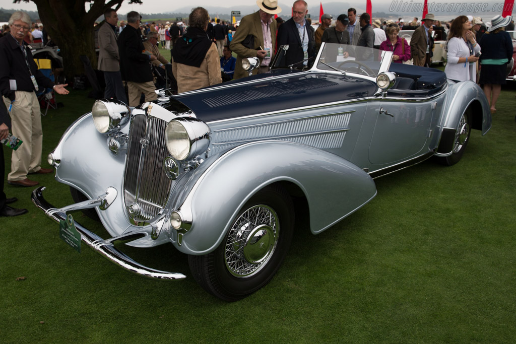 Horch 853 Erdmann & Rossi Special Roadster - Chassis: 854237A - Entrant: The Keller Collection  - 2016 Pebble Beach Concours d'Elegance