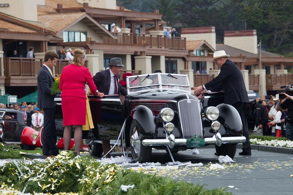 Lancia Astura Pinin Farina Cabriolet - Chassis: 33-3277 - Entrant: Richard Mattei  - 2016 Pebble Beach Concours d'Elegance
