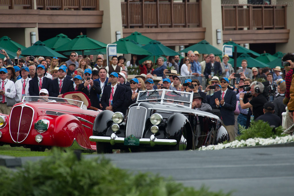 Lancia Astura Pinin Farina Cabriolet - Chassis: 33-3277 - Entrant: Richard Mattei  - 2016 Pebble Beach Concours d'Elegance