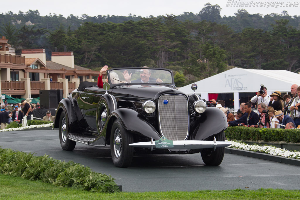 Lincoln K LeBaron Convertible Roadster  - Entrant: Stephen Brauer  - 2016 Pebble Beach Concours d'Elegance
