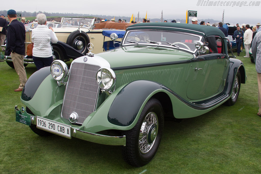 Mercedes-Benz 290 Cabriolet A - Chassis: 136142 - Entrant: Aaron & Valerie Weiss  - 2016 Pebble Beach Concours d'Elegance