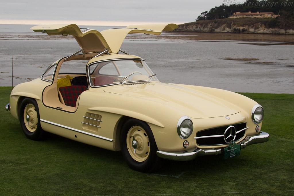 Mercedes-Benz 300 SL Coupe - Chassis: 198.043.6500015 - Entrant: Derek Hood  - 2016 Pebble Beach Concours d'Elegance