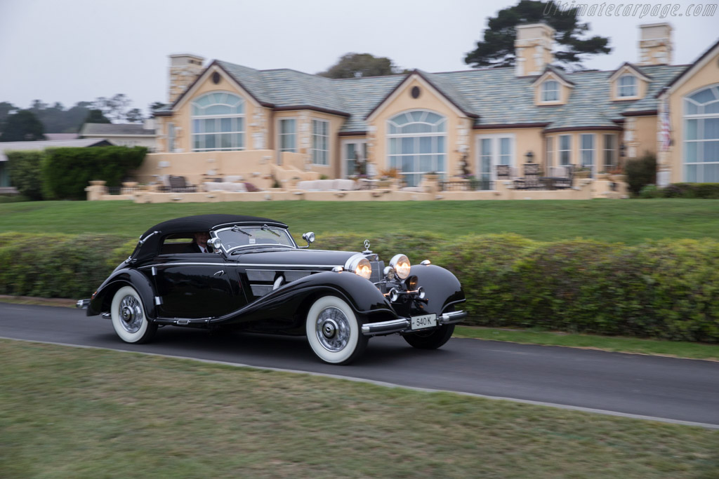 Mercedes-Benz 540 K Cabriolet - Chassis: 154083 - Entrant: Evergreen Historic Automobiles  - 2016 Pebble Beach Concours d'Elegance