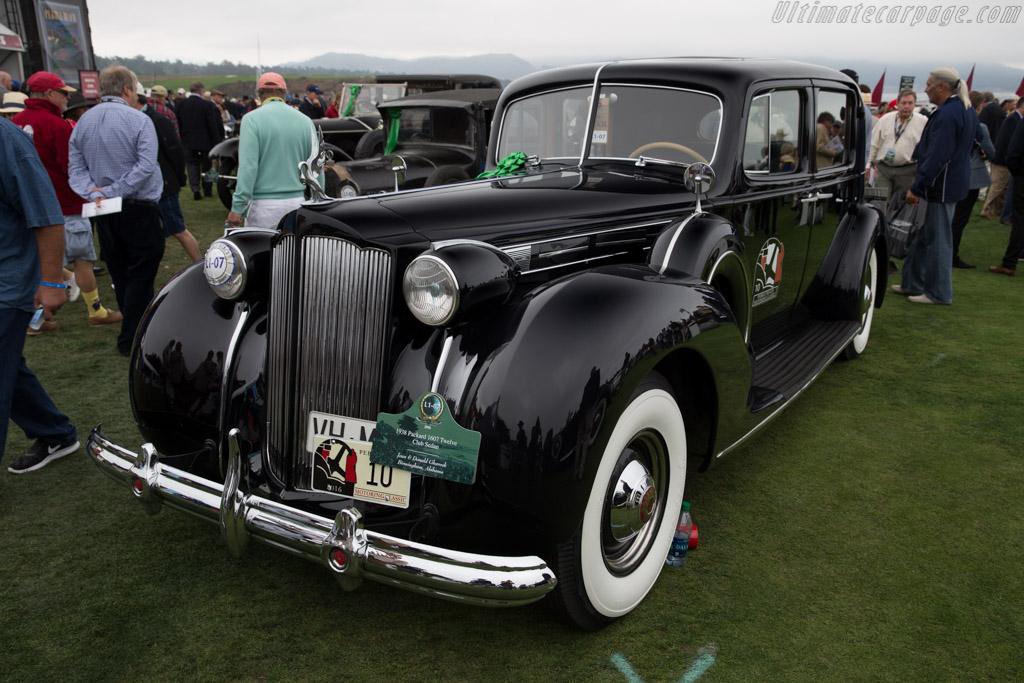 Packard 1607 Twelve Club Sedan  - Entrant: Jean & Donald Ghareeb  - 2016 Pebble Beach Concours d'Elegance
