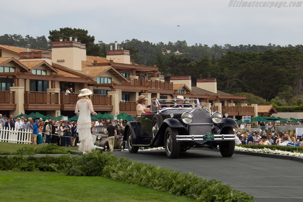 Packard 745 Deluxe Eight Roadster - Chassis: 185387V - Entrant: Craig A. Kappel  - 2016 Pebble Beach Concours d'Elegance