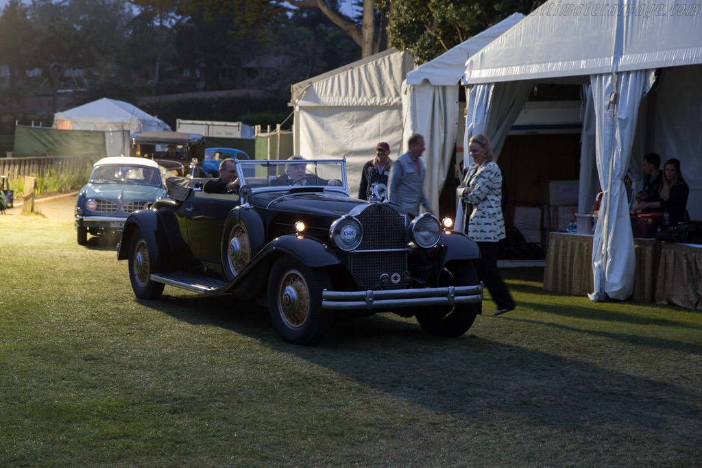 Packard 845 Deluxe Eight Derham Convertible Coupe  - Entrant: Mark J. Smith  - 2016 Pebble Beach Concours d'Elegance