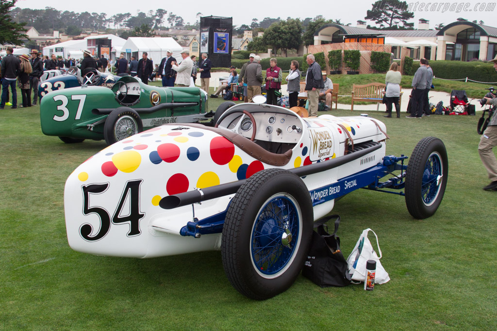 Rigling & Henning Wonder Bread Special  - Entrant: Pat & Gina Phinny  - 2016 Pebble Beach Concours d'Elegance