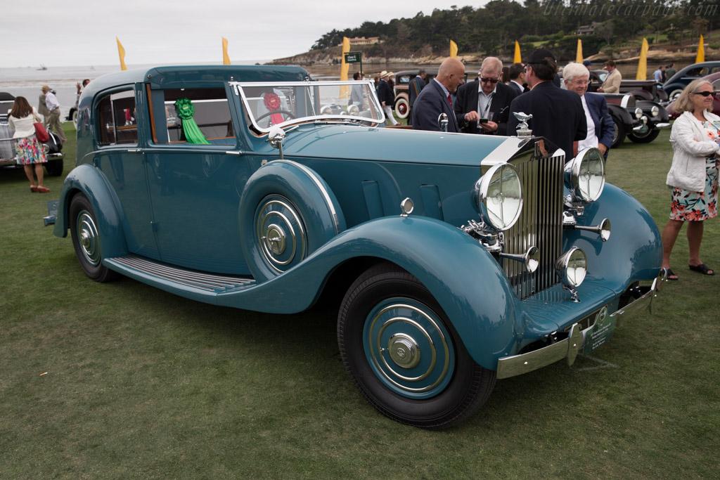 Rolls-Royce Phantom III Barker Sedanca de Ville - Chassis: 3CP178 - Entrant: Mark & Barb Johnson  - 2016 Pebble Beach Concours d'Elegance