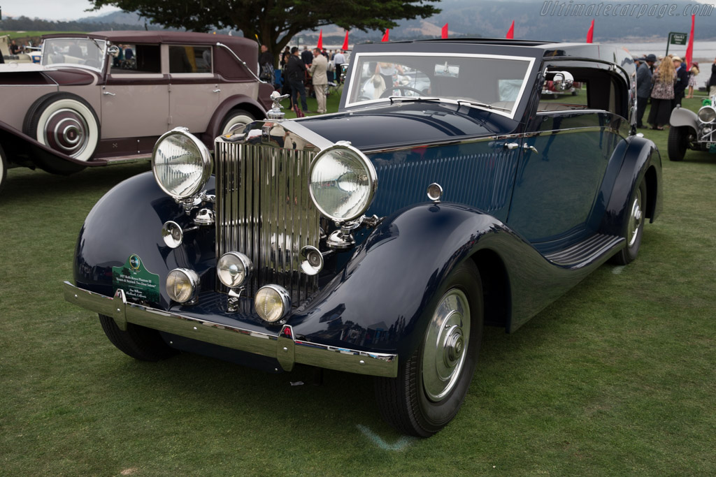 Rolls-Royce Phantom III Vesters & Neirinck Saloon - Chassis: 3CP144 - Entrant: Don Williams  - 2016 Pebble Beach Concours d'Elegance