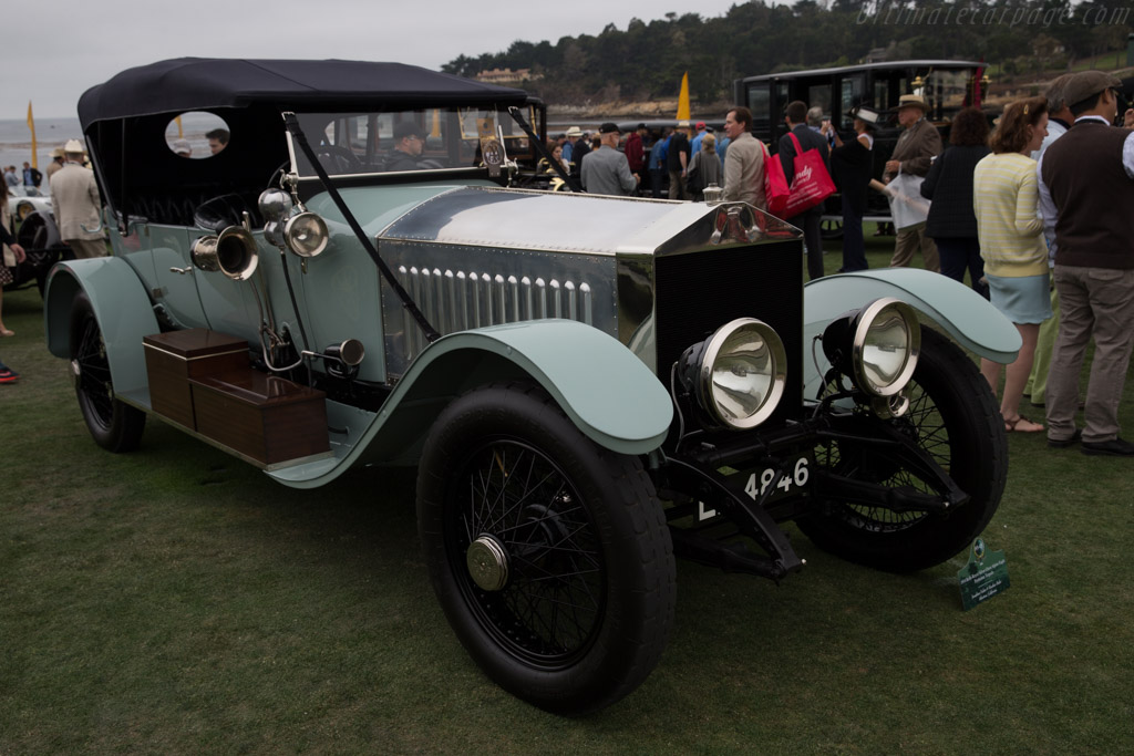 Rolls-Royce Silver Ghost Alpine Eagle Portholme Torpedo - Chassis: 17RB - Entrant: Jonathan Feiber & Heather Buhr  - 2016 Pebble Beach Concours d'Elegance