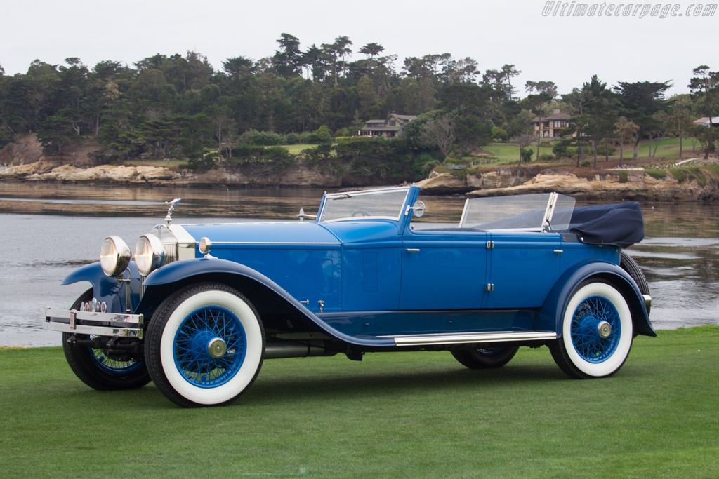 Rolls-Royce Silver Ghost Brewster Convertible Sedan - Chassis: 76ZG - Entrant: Zongmin Huang & Xiaoling Sun  - 2016 Pebble Beach Concours d'Elegance