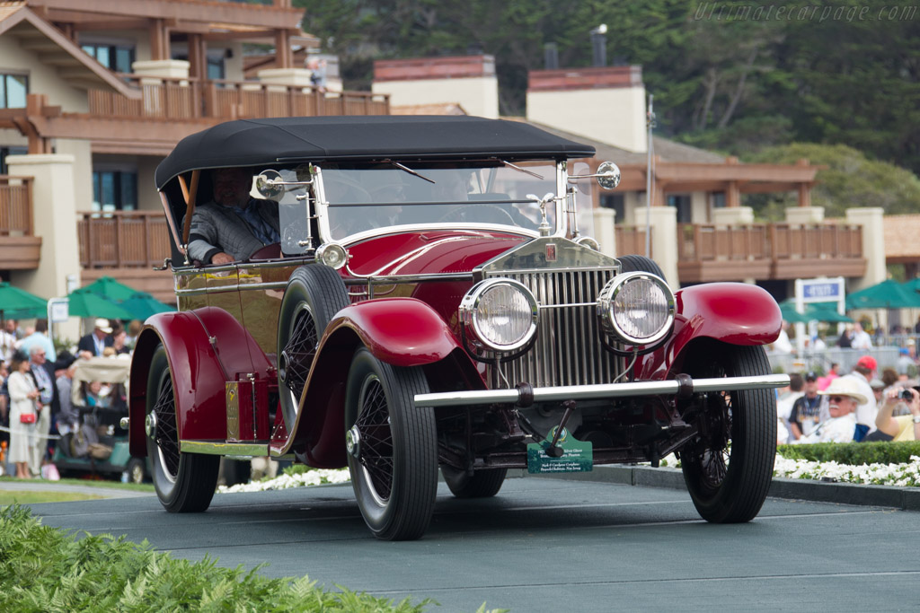 Rolls-Royce Silver Ghost Brunn & Company Phaeton  - Entrant: Mark & Carolynne Corigliano  - 2016 Pebble Beach Concours d'Elegance