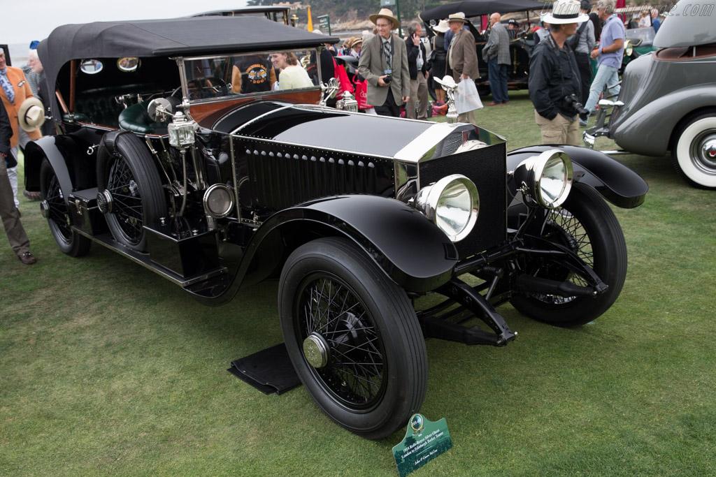 Rolls-Royce Silver Ghost Lpondon to Edinburgh Barker Tourer - Chassis: 29AB - Entrant: John & Gwen McCaw  - 2016 Pebble Beach Concours d'Elegance