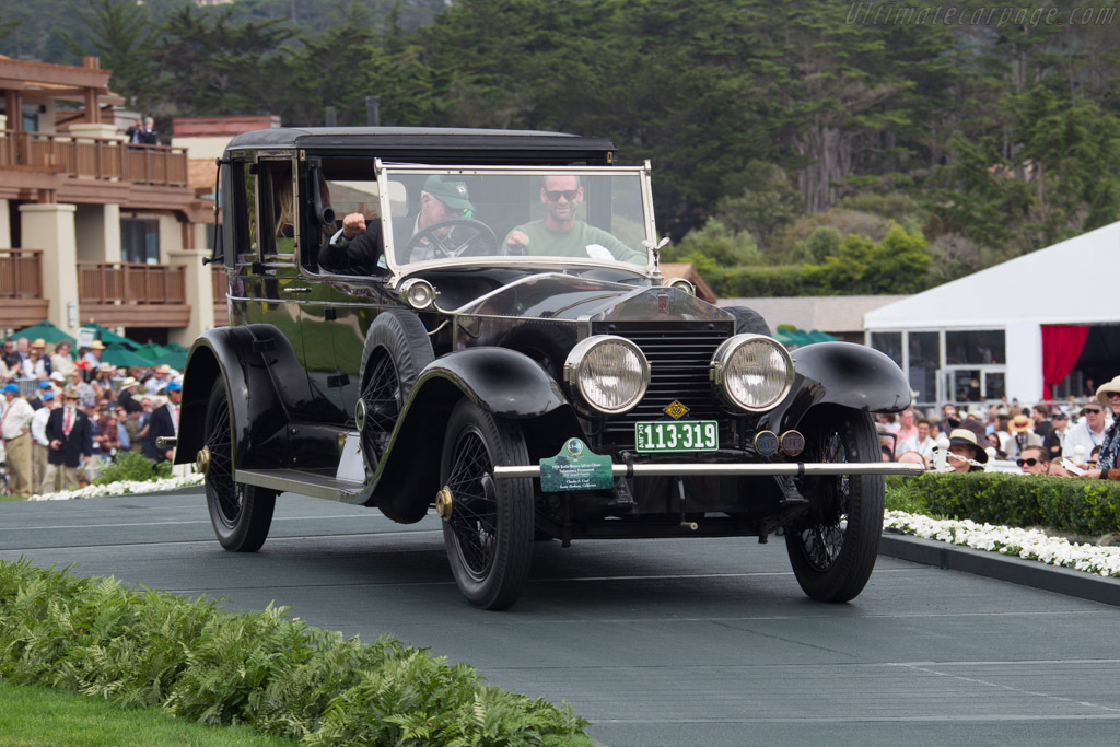 Rolls-Royce Silver Ghost Salamanca Permanent - Chassis: 273KF - Entrant: Charles S. Crail  - 2016 Pebble Beach Concours d'Elegance