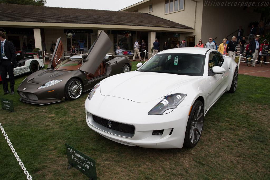 VLF Automotive Destino V8    - 2016 Pebble Beach Concours d'Elegance