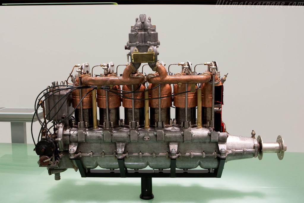 Austro-Daimler airplane Engine    - Porsche Museum Visit