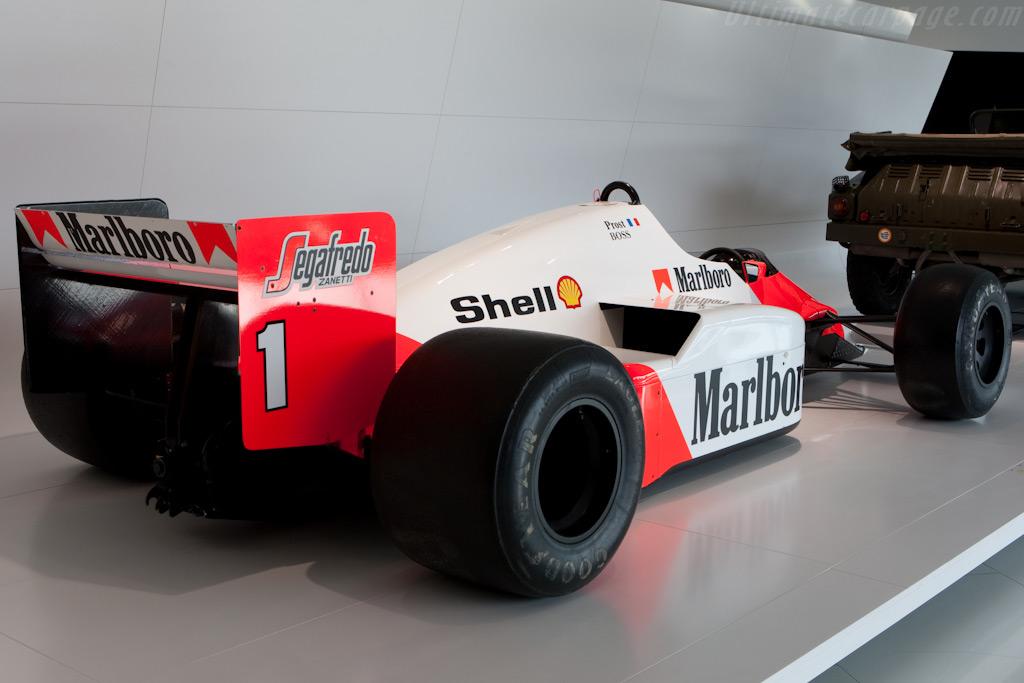 McLaren MP4/2C TAG Porsche - Chassis: MP4/2C-4   - Porsche Museum Visit