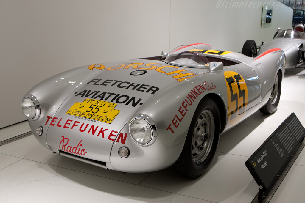 Porsche 550 Roadster - Chassis: 550-04   - Porsche Museum Visit