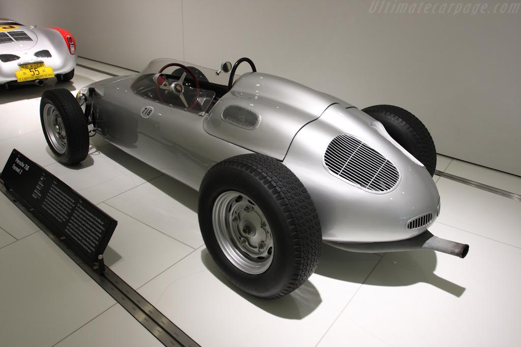 Porsche 718 F2    - Porsche Museum Visit
