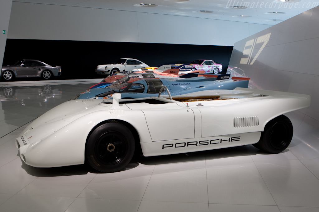 Porsche 917 PA Spyder - Chassis: 917.027   - Porsche Museum Visit
