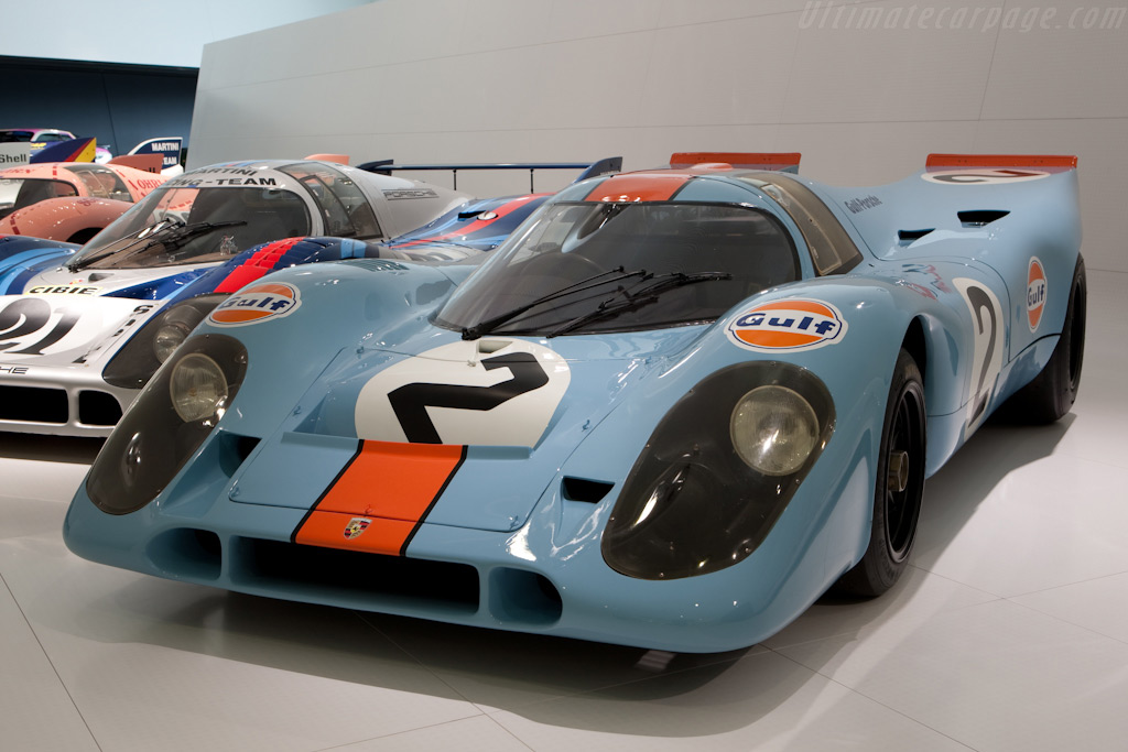Porsche 917K - Chassis: 917-015   - Porsche Museum Visit