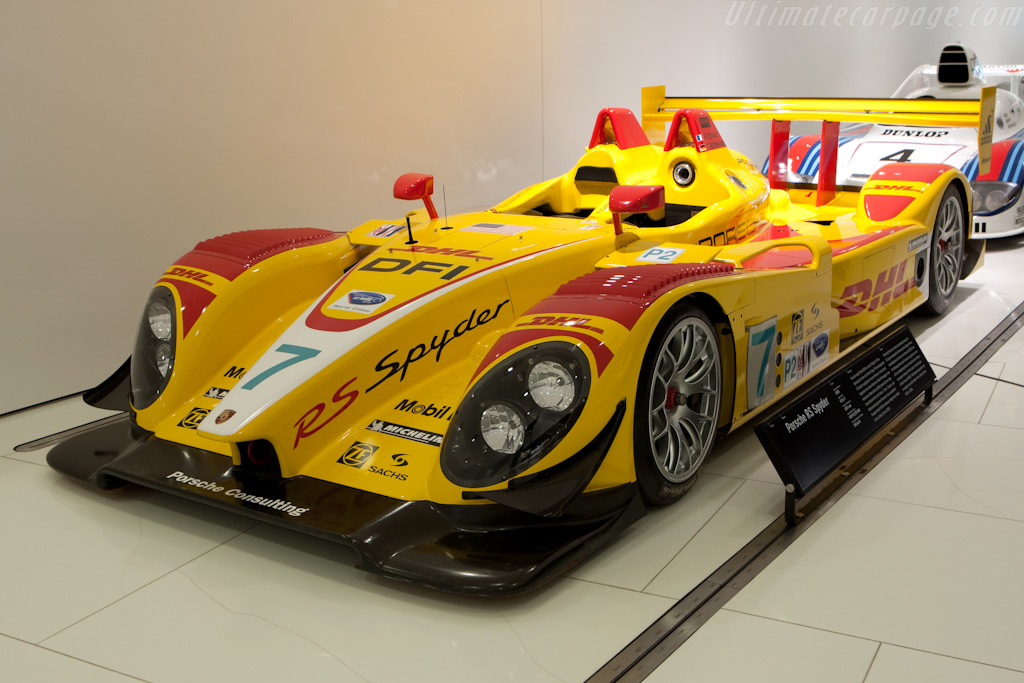 Porsche Rs Spyder Chassis 9r6 710 Porsche Museum Visit