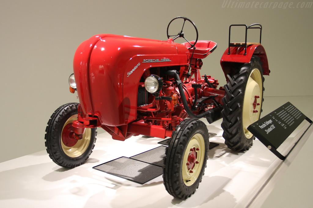 Porsche Tractor    - Porsche Museum Visit