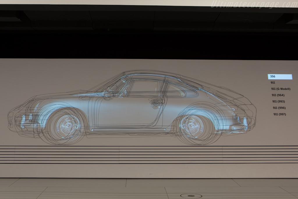 Porsches over the years    - Porsche Museum Visit