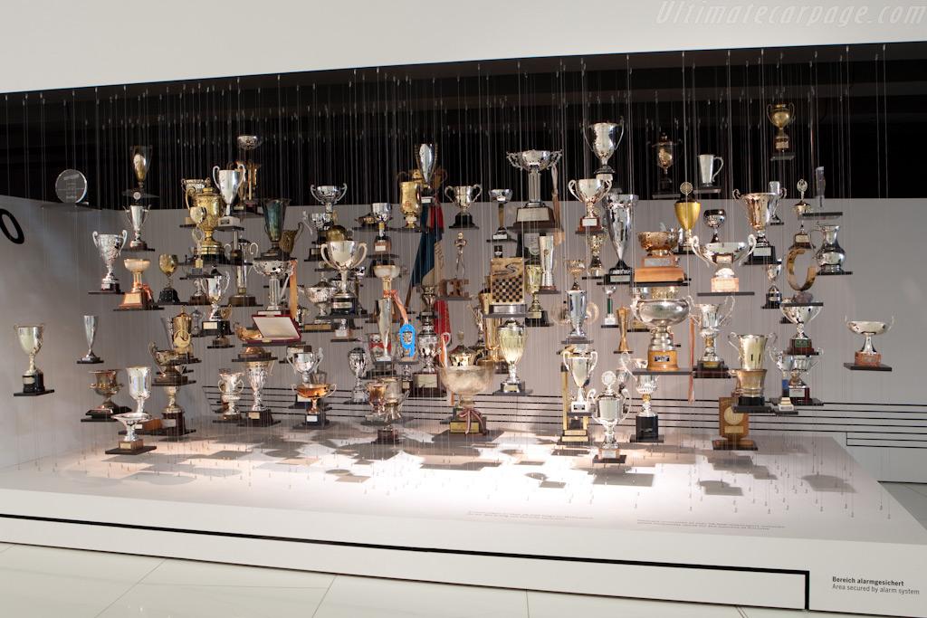 Trophies    - Porsche Museum Visit