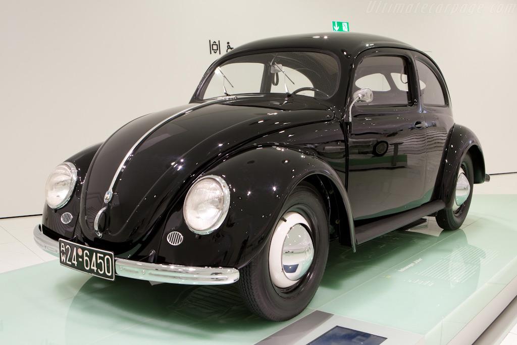 Volkswagen Beetle    - Porsche Museum Visit