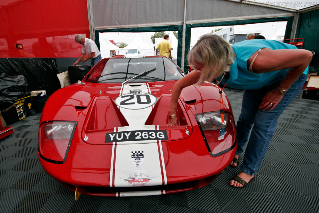 Ford GT40 - Chassis: GT40P/1089   - 2007 Porto Historic Grand Prix