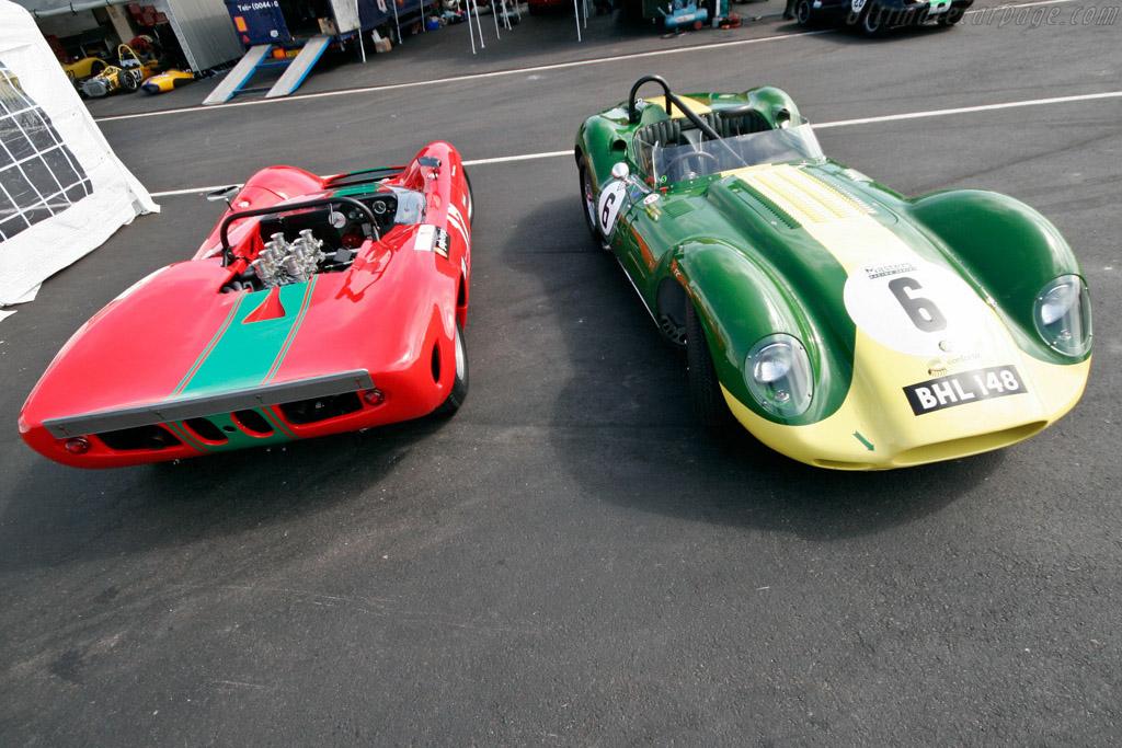 Lola T70 MK I and Lister Chevrolet - Chassis: SL70/1   - 2007 Porto Historic Grand Prix