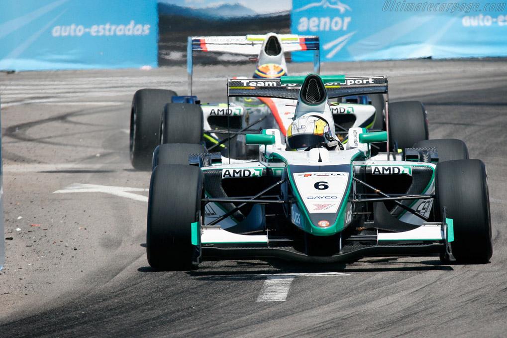 Cantelli defending position    - 2007 WTCC - Circuito da Boavista