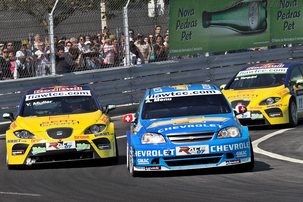Menu passes the Seats    - 2007 WTCC - Circuito da Boavista