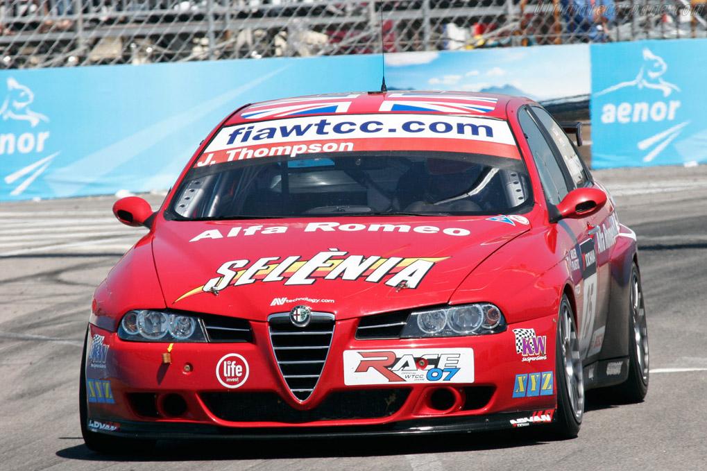 Thompson had a rough weekend    - 2007 WTCC - Circuito da Boavista