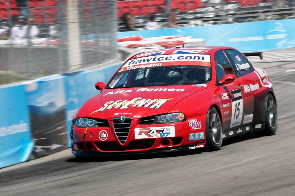 Thompson's beautiful Alfa    - 2007 WTCC - Circuito da Boavista