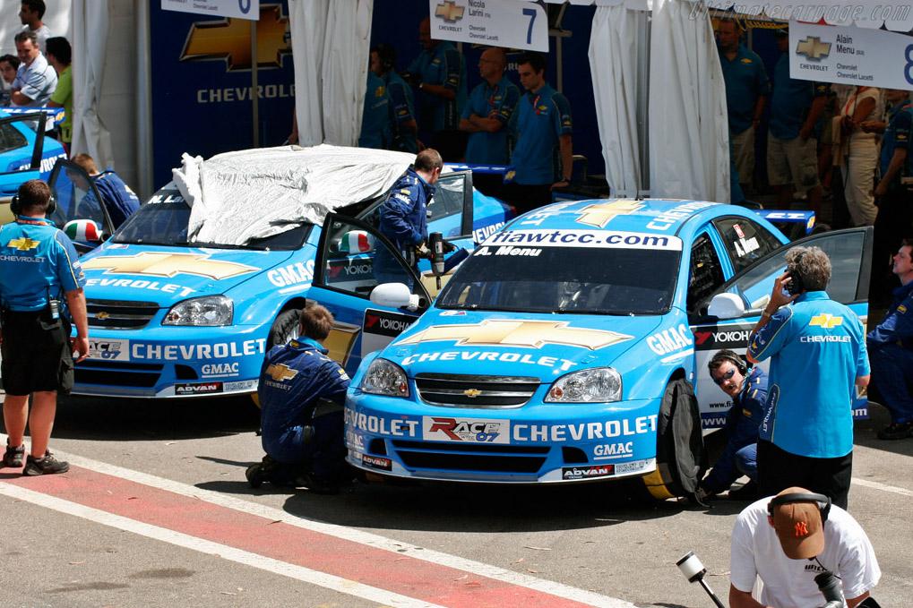 WTCC Lacettis get ready    - 2007 WTCC - Circuito da Boavista