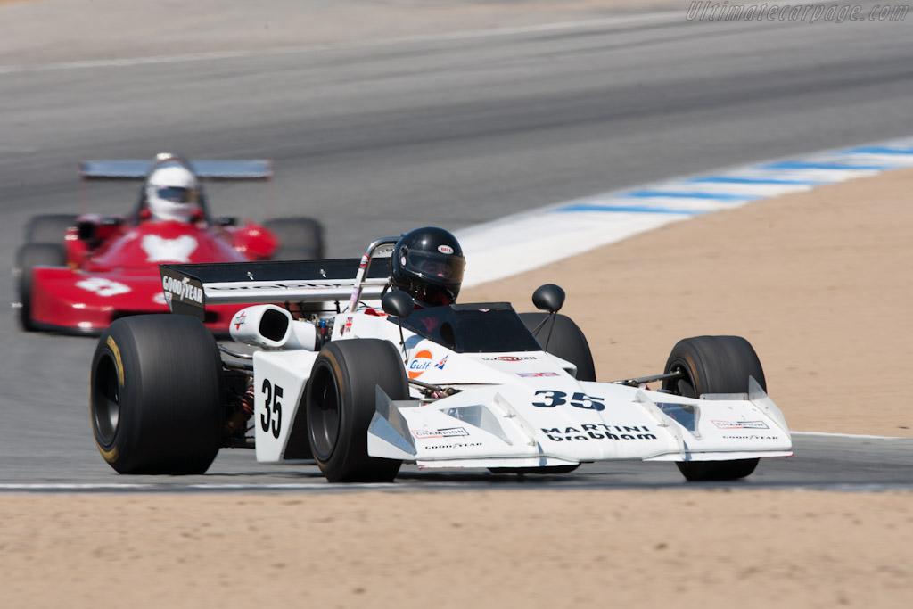 Brabham BT40    - 2012 Monterey Motorsports Reunion