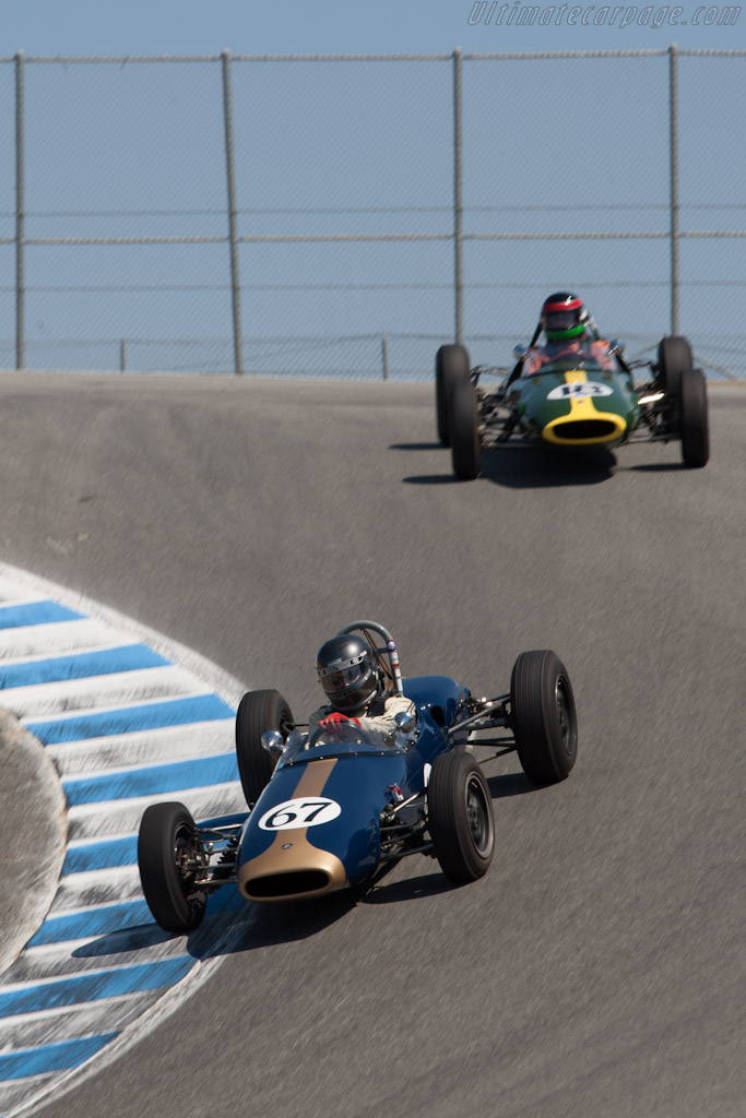 Brabham BT6 - Chassis: FJ-21-63   - 2012 Monterey Motorsports Reunion