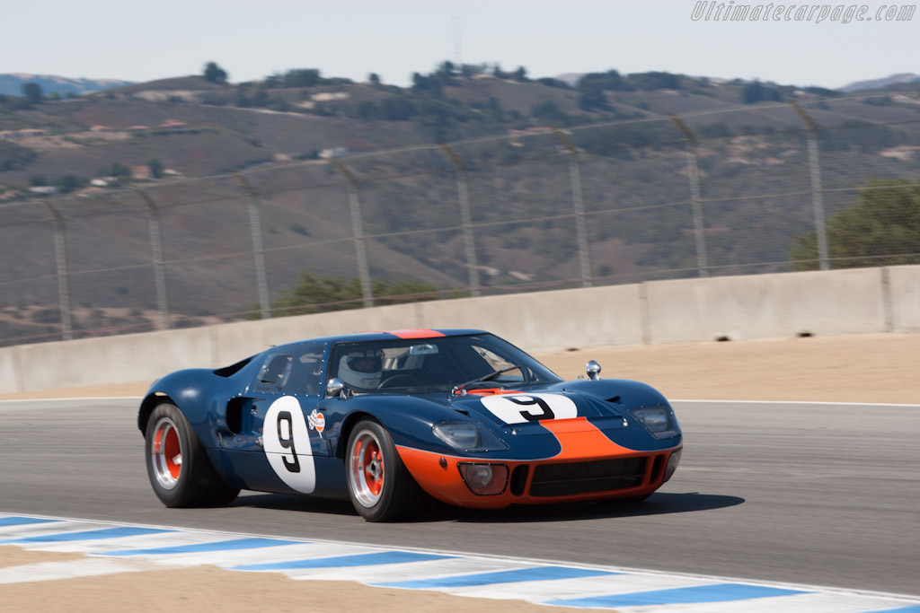Ford GT40 - Chassis: GT40P/1051 - Driver: Chris MacAllister  - 2012 Monterey Motorsports Reunion