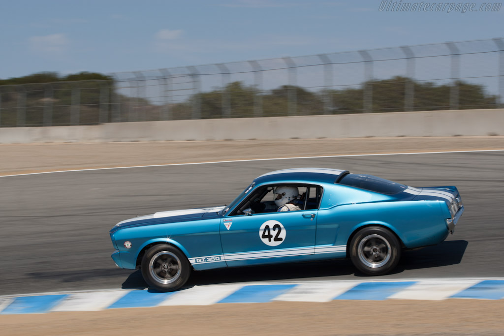 Ford Shelby Mustang Gt350 2012 Monterey Motorsports Reunion