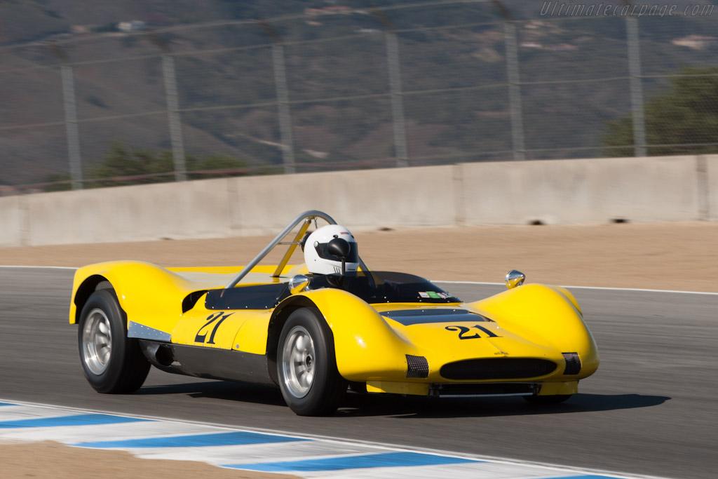 Huffaker Genie Mk IV    - 2012 Monterey Motorsports Reunion