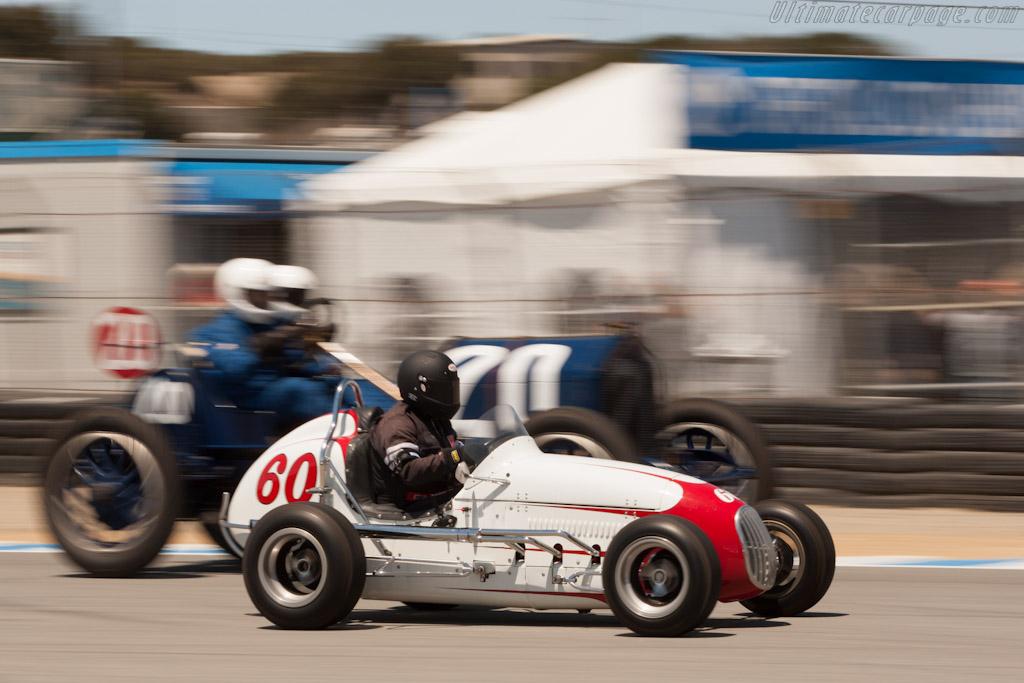 Kurtis Midget    - 2012 Monterey Motorsports Reunion