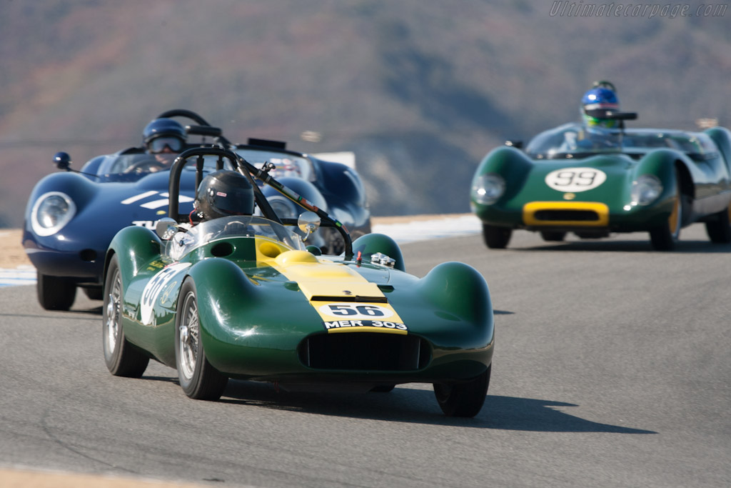 Lister Maserati    - 2012 Monterey Motorsports Reunion
