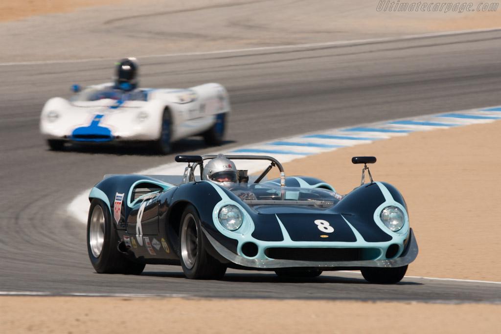 Lola T70 - Chassis: SL70/10 - Driver: Bryon Defoor - 2012 Monterey Motorsports Reunion